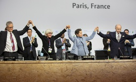 "Paris agreement marks ""turning point"" in history 